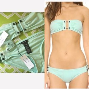 PROENZA SCHOULER: NWT Barbell Accent Bikini Set